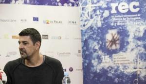 Festival de cinema Rec de Tarragona. Roda de premsa del director de cinema Cesc Gay