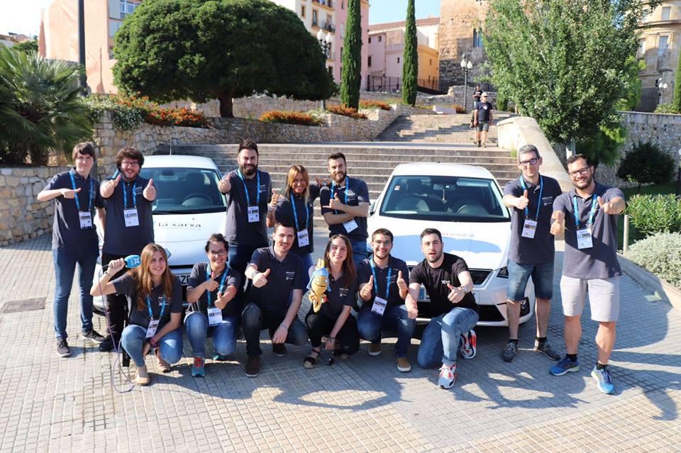 equip ràdio ciutat de tarragona rctgn la xarxa jocs mediterranis