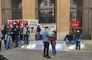 El Mario a la sortida del Palau de Justícia de Tarragona